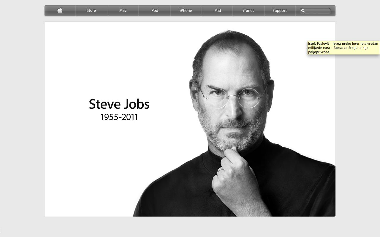Umro Steve Jobs